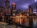 都市夜景犹如漫画游戏般梦幻