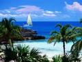 加勒比海风景高清壁纸