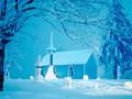 冬日雪景图片-冬日雪景壁纸大全