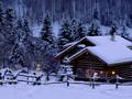 冬季白皙雪景宽屏高清桌面图片