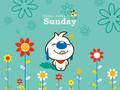 辛巴狗《一个星期》可爱卡通壁纸