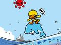 鸭嘴兽男孩星辰大海iPad壁纸
