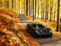 黑色的轿车图片绝色风景壁纸