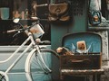 时髦的自行车背景图片壁纸