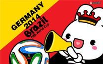 Ladycc助威世界杯高清壁纸