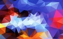 彩色放块桌面壁纸