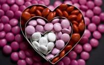 彩色糖豆背景图片电脑壁纸