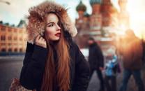 俄罗斯美女桌面壁纸