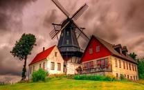 荷兰风车-荷兰风车图片大全