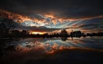 唯美黄昏有一种美丽叫夕阳壁纸3