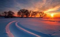 夕阳西下图片-夕阳西下景色图片大全