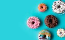 好看好吃的甜甜圈图片壁纸