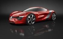 红色超级概念跑车壁纸