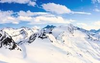 最美的雪山高清图片壁纸