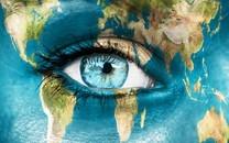 美女的眼睛桌面壁纸