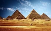 埃及金字塔风光桌面图片壁纸