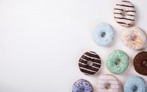 精致美味的甜甜圈图片壁纸