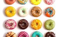 精致美味的甜甜圈图片壁纸2