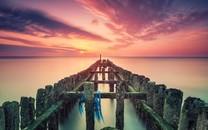 夕阳无限唯美摄影壁纸