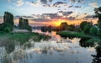 唯美黄昏有一种美丽叫夕阳2