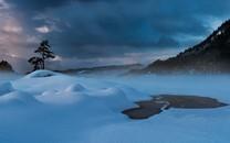 好看的冬季雪景冰雪天地风景图片桌面壁纸
