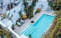 酒店游泳池高清图片壁纸