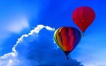好看的热气球图片桌面壁纸