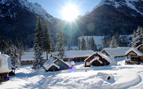 初雪唯美风景壁纸