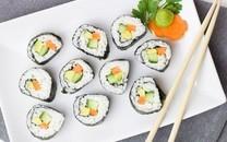 诱人可口的日式料理寿司图片壁纸