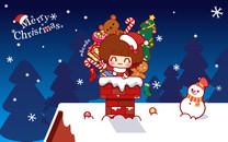 摩丝摩丝圣诞壁纸
