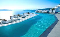 梦幻天堂圣托里尼岛唯美风光高清壁纸