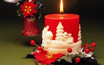 红色圣诞图片-圣诞元素壁纸图片大全