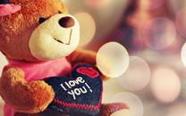 爱心心形情侣温馨浪漫桌面壁纸