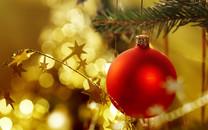 圣诞彩球图片-圣诞彩球壁纸图片大全