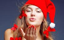 圣诞美女图片-圣诞美女壁纸图片大全