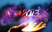 Happy New Year 2013桌面壁纸
