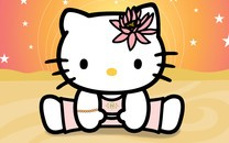Hello Kitty可爱卡通桌面壁纸