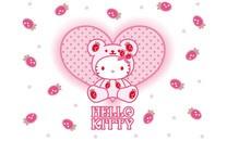Hello Kitty可爱卡通桌面壁纸下载