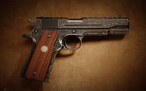 M1911手枪桌面壁纸
