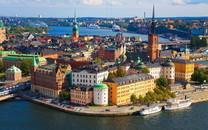 瑞典首都斯德哥尔摩宽屏壁纸