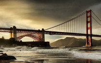 美国旧金山金门大桥壁纸