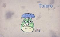 トトロ龙猫可爱桌面壁纸