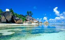 塞舌尔海岛自然风景高清桌面壁纸