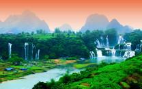 绿色自然美景护眼壁纸