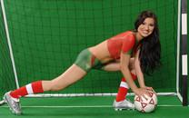 世界杯人体彩绘宽屏壁纸