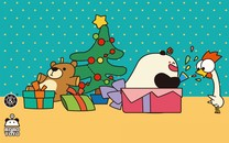 圣诞节可爱壁纸高清