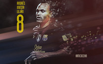 世界杯明星伊涅斯塔(Andres Iniesta)高清壁纸