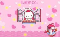 Ladycc可爱系列电脑壁纸