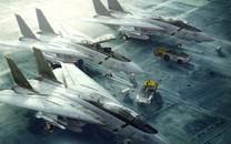 F-14雄猫战机高清壁纸桌面