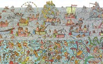 网红卡通壁纸背景图片